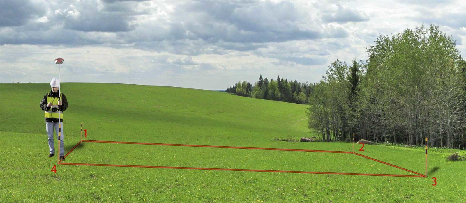 Вынос границ земельного участка в натуру своими руками