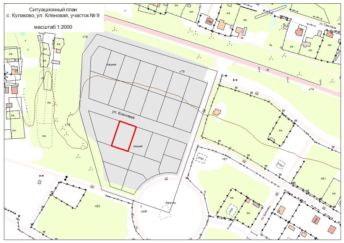 Ситуационный план Топография и геодезия для проектирования и строительства.