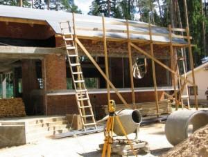 Геодезические работы при постройке частного дома