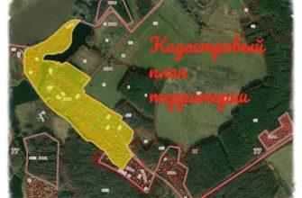 Кадастровый план территорий