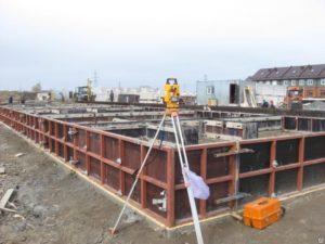 Работы при строительстве