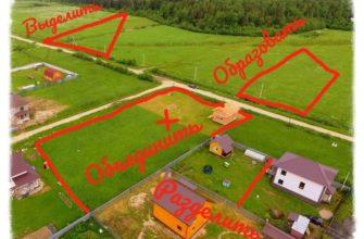 Межевой план земельного участка